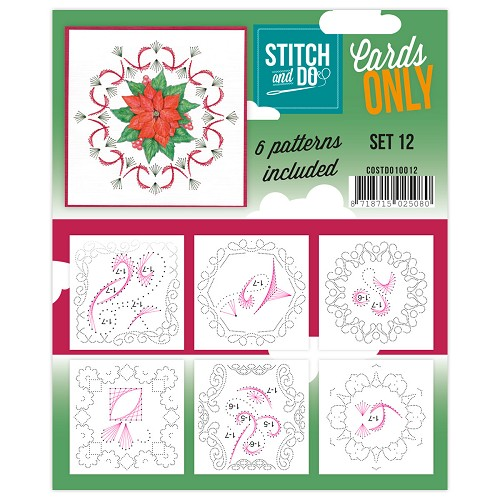 Stitch & Do - Cards only - Set 12 | findittrading.com