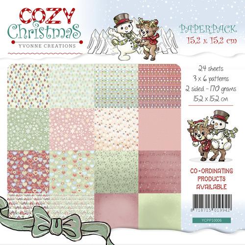 15,2 x 15,2cm Yvonne Creations Paperpack Halloween /& Herbst – 170gr