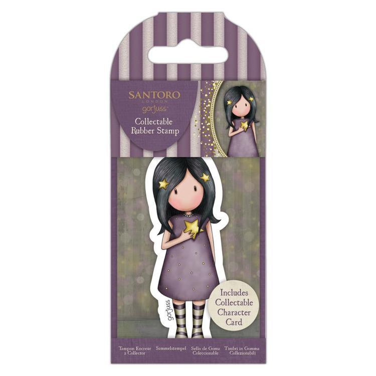 Santora Gorjuss Girls Craft Collection Embelishment 3D Stickers 6pk