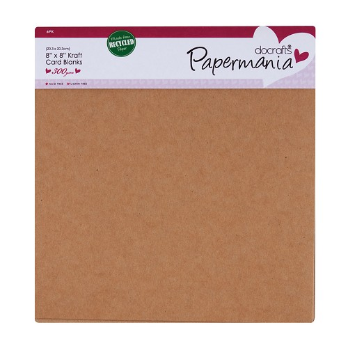 Docrafts Pma174619 Mixed Frames Papermania Bare Basics Wooden Shapes 10 Pack ,